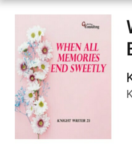 Resensi buku When all memories end sweetly